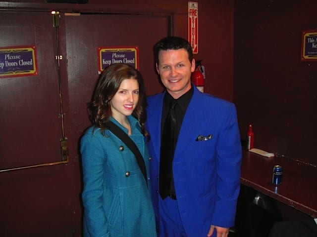 Atlanta magician Ken Scott performing for Movie star Anna Kendrick