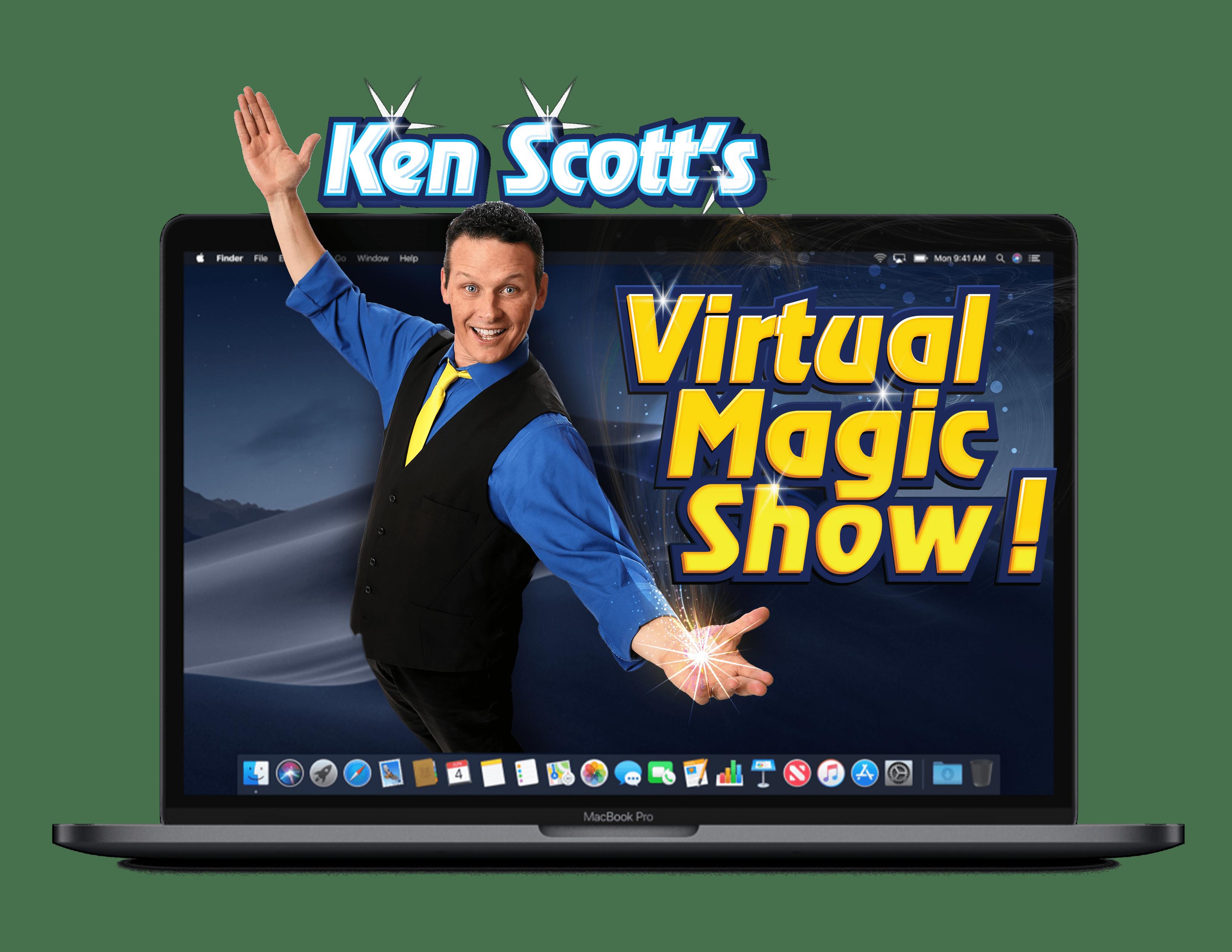 Virtual shows with Ken Scott