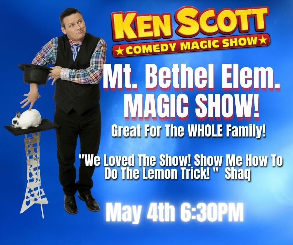 Ken Scott Magic family night show